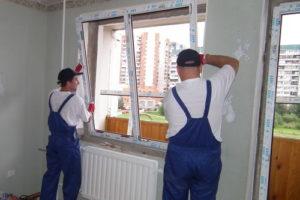 Установка пластиковых окон в Санкт-Петербурге